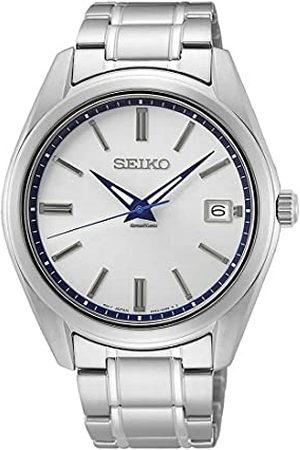 Seiko Analoog kwartshorloge voor heren, met roestvrij stalen armband SUR457P1