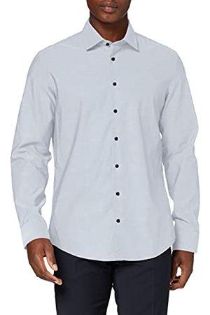 Seidensticker Zakelijk herenoverhemd – eenkleurig overhemd met chique Kent-kraag en een hoog draagcomfort – pasvorm slim fit – lange mouwen – 100% katoen