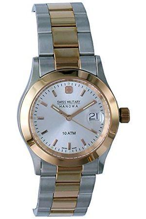 Swiss Military Hanowa Dames Horloges - Dameshorloge analoog kwarts roestvrij staal 06-5023.1.12.001