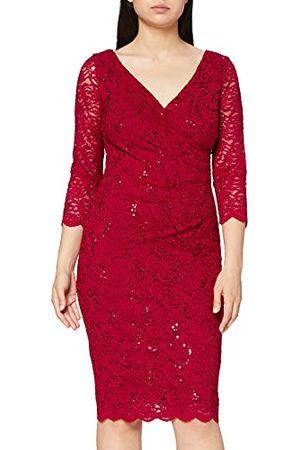 Gina Bacconi Dames pailletten kanten jurk cocktail