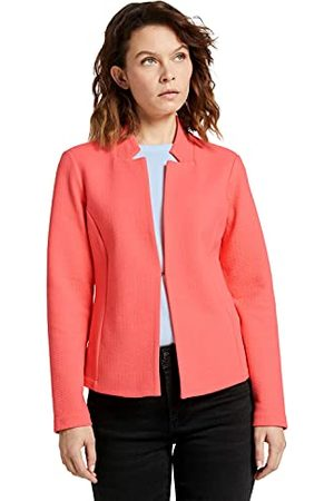 TOM TAILOR Structure Blazer voor dames, Strong Peach Tone, S