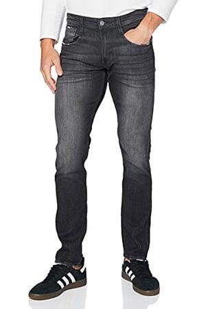 Replay Laserblast Anbass, heren jeans slim fit, regular taille, stijlvolle stretch jeans voor mannen, denim jeans, maten: 27-40