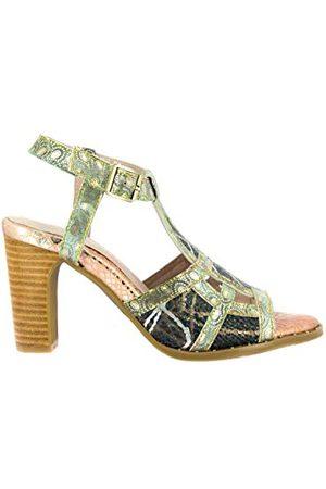 LAURA VITA 0002511, open sandalen met sleehak Dames 38 EU