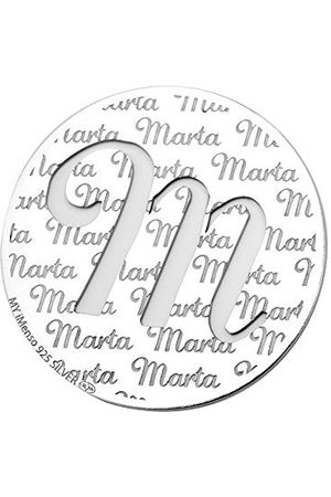 MyImenso Bedelhanger voor dames, model M, zilverkleurig, eenheidsmaat