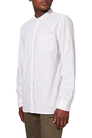 Mustang Casper Slub Stripe Klassiek overhemd voor heren