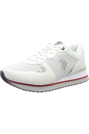 Ralph Lauren U.S. Polo Assn FEY4228S8YM1-WHI_38 Sneakers voor dames, , EU