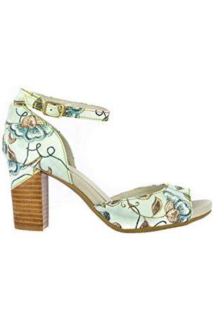 LAURA VITA 0002625, open sandalen met sleehak Dames 39 EU
