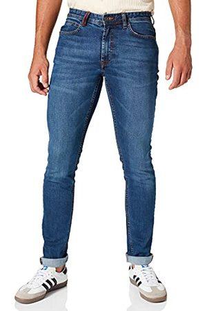 HKT BY HACKETT Heren Straight - Heren Hkt Core Vint Wsh Denm Straight Jeans