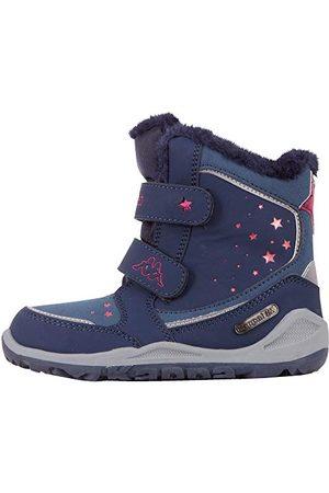 Kappa Unisex kinderen CUI TEX Sneakers, 6722 Navy/roze, 31 EU