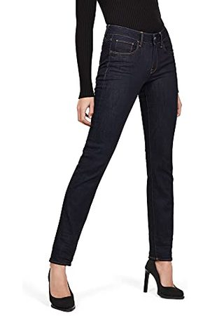 G-Star Dames 3301 Desconstructed Mid Taille Straight Jeans
