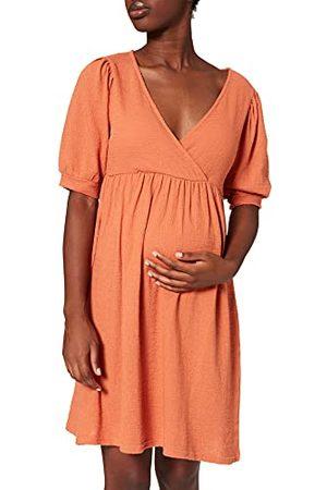 BESTSELLER Dames MLBRANCH TESS 24 JERSEY Dress 2F A. Jurk, Herfstbladeren, normaal