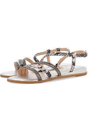 Gioseppo 59822-P, open sandalen met sleehak Dames 36 EU