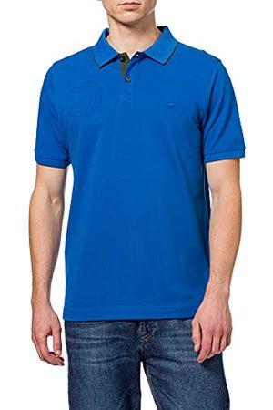 Camel Active Heren 4094665P3690 Poloshirt, Strong Blue, 3XL