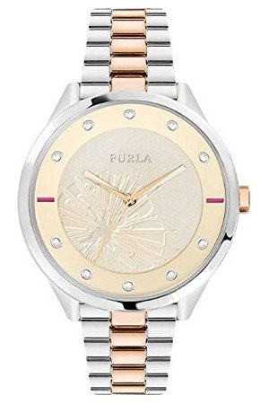 Furla Dames analoog kwartshorloge met roestvrij stalen armband R4253102520