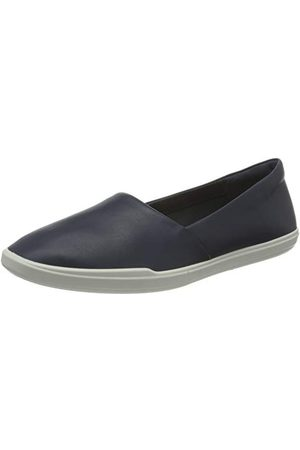 Ecco Dames Loafers - Simpil Loafer Slipper voor dames, marineblauw, 41 EU