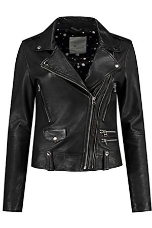 GOOSECRAFT Dames Gc Lovemaker Biker Leather Jacket