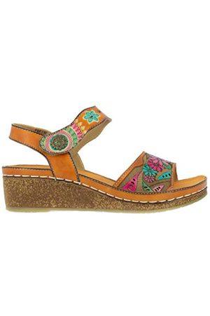 LAURA VITA 0002424, open sandalen met sleehak Dames 36 EU