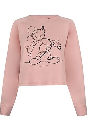 Disney Dames Mickey Giggles Pullover trui, , groot