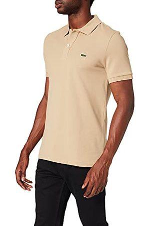 Lacoste Polo T-shirt voor heren, Beige (Viennois 02s), M