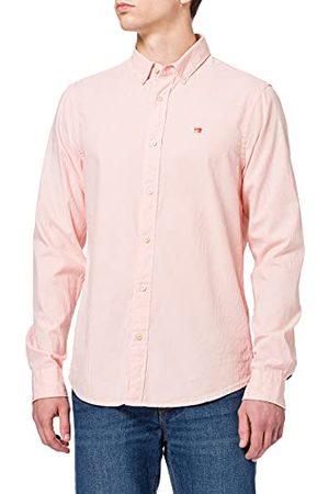 Scotch&Soda Heren Overhemden - Heren Regular Fit - Klassiek Oxford shirt in organisch katoenen overhemd