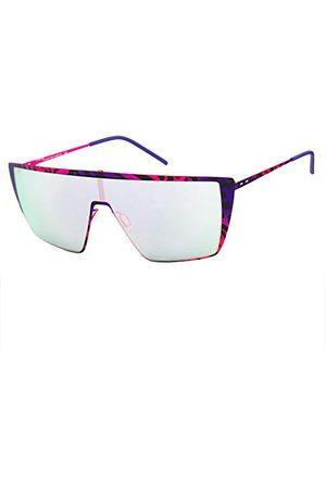 Italia Independent Dames 0215-ZEB-013 zonnebril, meerkleurig (morado/ ), 64.0