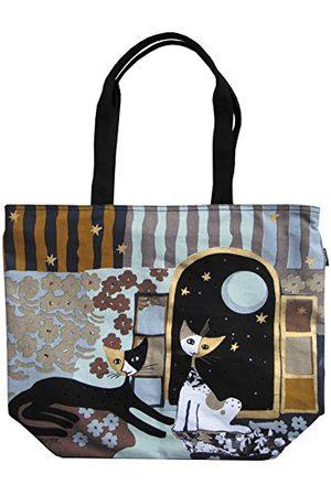 Fridolin Canvas/Beach Tote Bag, 48 cm, 6,9 liter, Multi kleuren 2111595