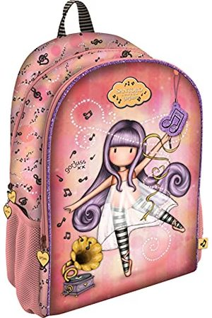 Santoro Gorjuss Little Dancer, rugzak met 2 ritssluitingen, aanpasbaar, 315 x 440 x 225 mm