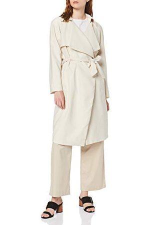 Koton Dames trenchcoat zonder knoopsluiting mantel