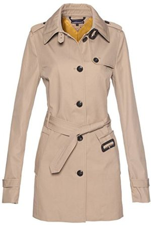 Tommy Hilfiger Dames trenchcoat mantel New Heritday Short Trench, (Colebrook 018), S/M