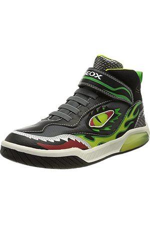 Geox Jongens J Inek Boy A sneakers, limoen, 36 EU