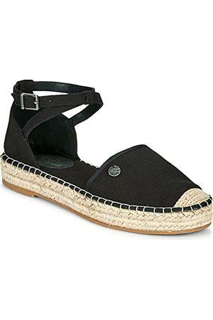 Esprit 041EK1W307 sandalen voor dames, 001/BLACK, 36 EU