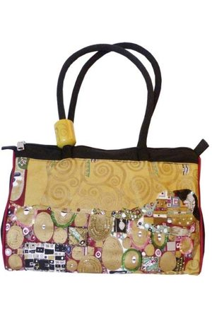 Fridolin Canvas/Beach Tote Bag, 35 cm, 5,5 liter, Multi kleuren 2111589