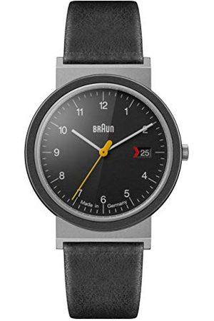 von Braun Unisex volwassen analoog kwarts horloge met lederen armband AW10EVO