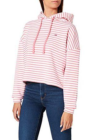 Tommy Hilfiger Vrouwen Tjw Bxy Crop Multi Stripe Hoodie Sweatshirt