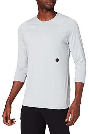 Under Armour Heren Ua Rush 3/4 mouw comfortabel T-shirt voor mannen met rush-technologie, ademend sportshirt met strakke pasvorm