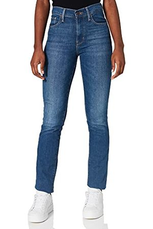 Levi's Womens 724 High Rise Straight Jeans, Nonstop, 2530