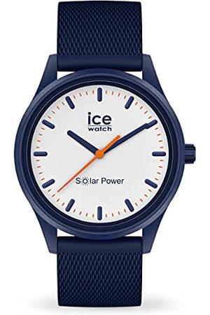 Ice-Watch ICE solar power Pacific Mesh - Herenhorloge (unisex) met siliconen armband - 018394 (Maat M)