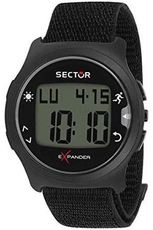 Sector No Limits Heren digitaal analoog kwartshorloge met nylon armband R3251530001