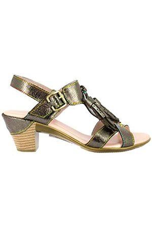 LAURA VITA 0002514, open sandalen met sleehak Dames 37 EU