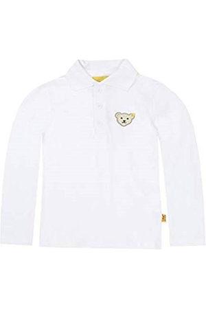 Steiff Poloshirt voor jongens, met lange mouwen, blauw en
