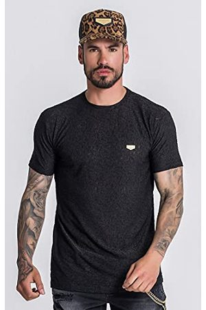 Gianni Kavanagh Black Forever More Lace Tee T-shirt voor heren