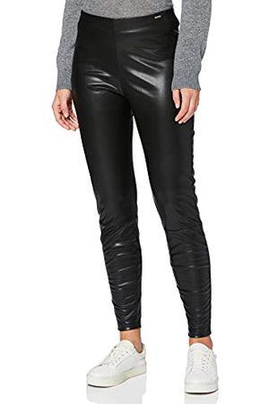 Herrlicher Prachtige dames Faith Fake Leather broek