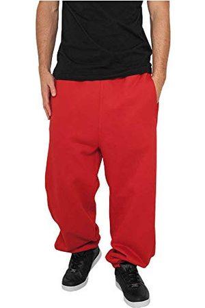 Urban classics Basic joggingbroek voor heren, sportbroek, (red), 3XL