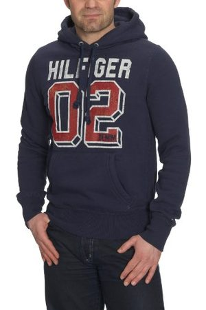 Tommy Hilfiger Heren lang - normale jas, (peacoat), 50 NL
