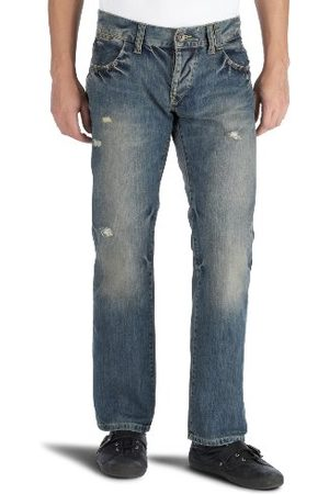 Tommy Hilfiger Heren Straight Been Jeans Jeans, (New Jersey Used), 36W x 32L