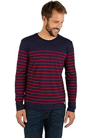 """Armor.lux Matrozenshirt""""Port-Louis"""" erfgoed met lange mouwen heren top - blauw - Medium"""