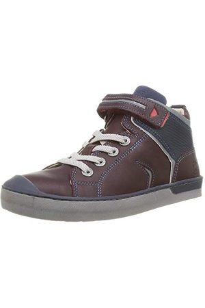 Kickers Jongen Irelas Sneaker, Marron Fonce Marine, 27 EU
