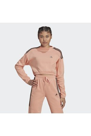 Adidas Dames Sweaters - Hyperglam Crop Sweatshirt