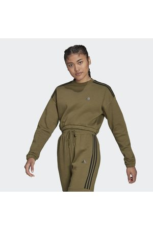 Adidas Hyperglam Crop Sweatshirt
