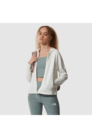 The North Face Dames Truien - The North Face Active Trail Basin-zip-up-hoodie Voor Dames Gardenia White Heather Größe L Dame